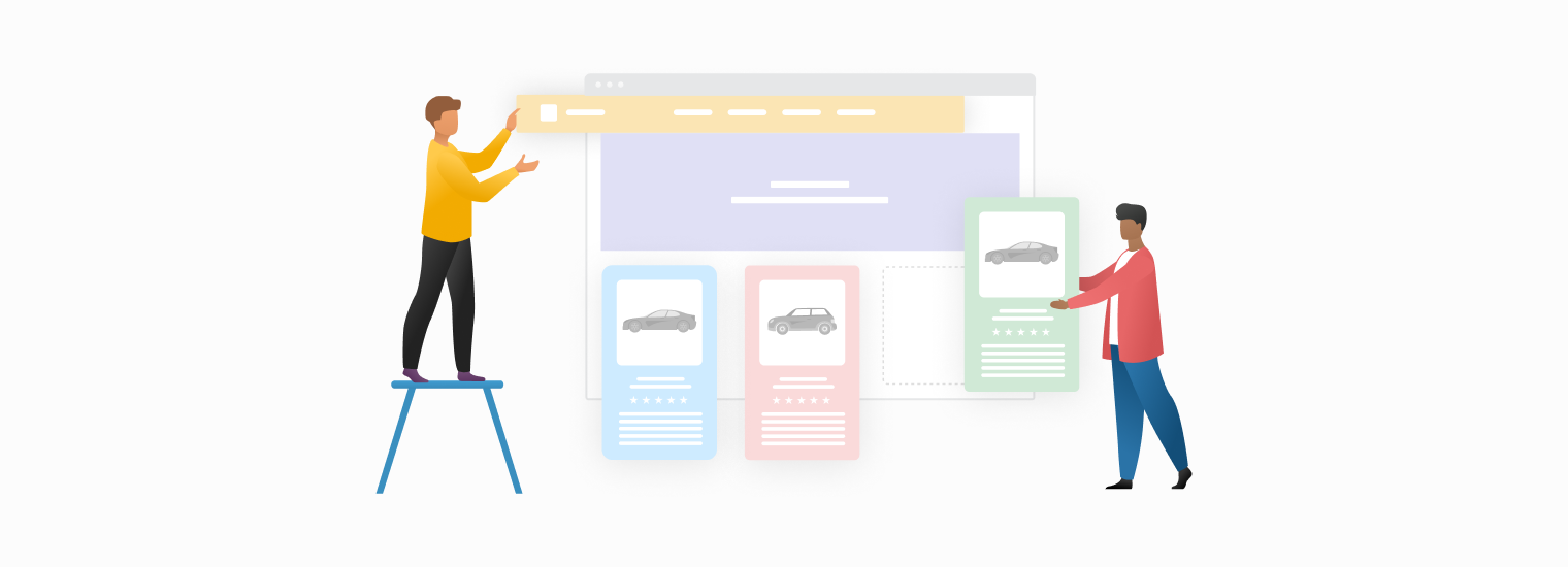 3 Counter-Intuitive Examples of Great Online Auto Stores Designs