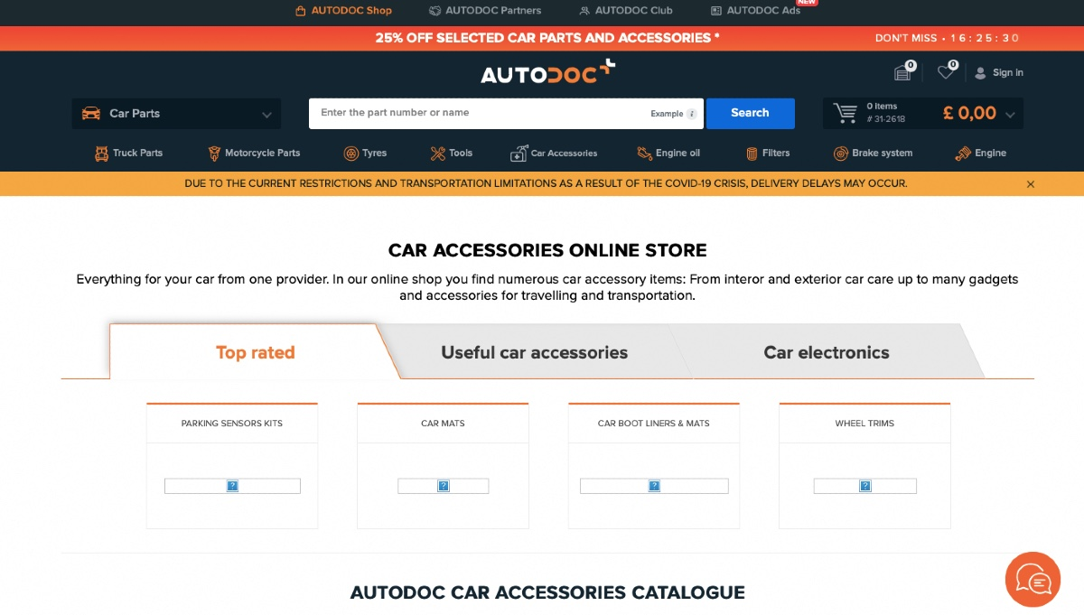 Low-quality images auto stores